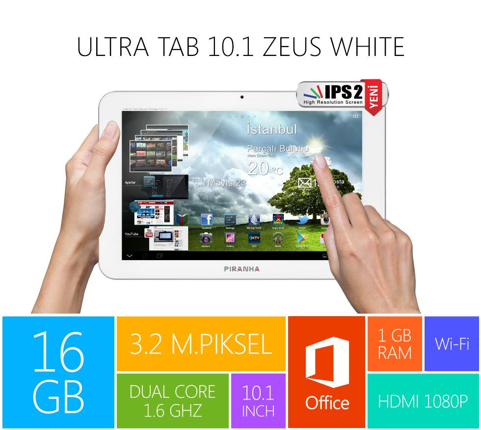 Ultra Tab 10.1 Zeus White