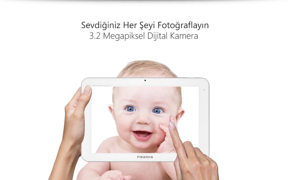Ultra Tab 10.1 Zeus White-Sevdiğiniz Her Şeyi Fotoğraflayın