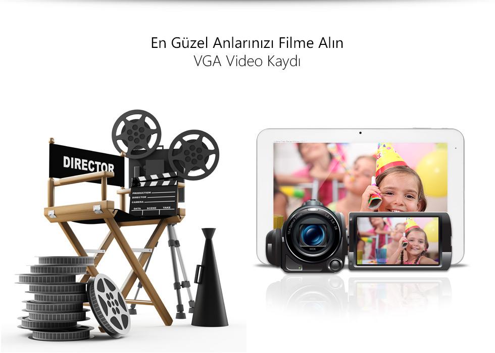 Ultra Tab 10.1 Zeus White-En Güzel Anlarınızı Filme Alın