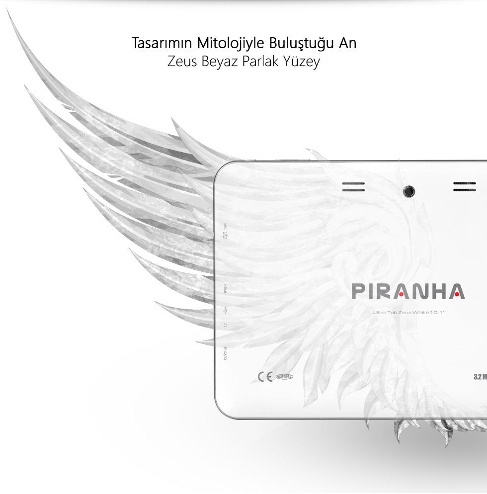 Ultra Tab 10.1 Zeus White-Tasarımın Mitolojiyle Buluştuğu An
