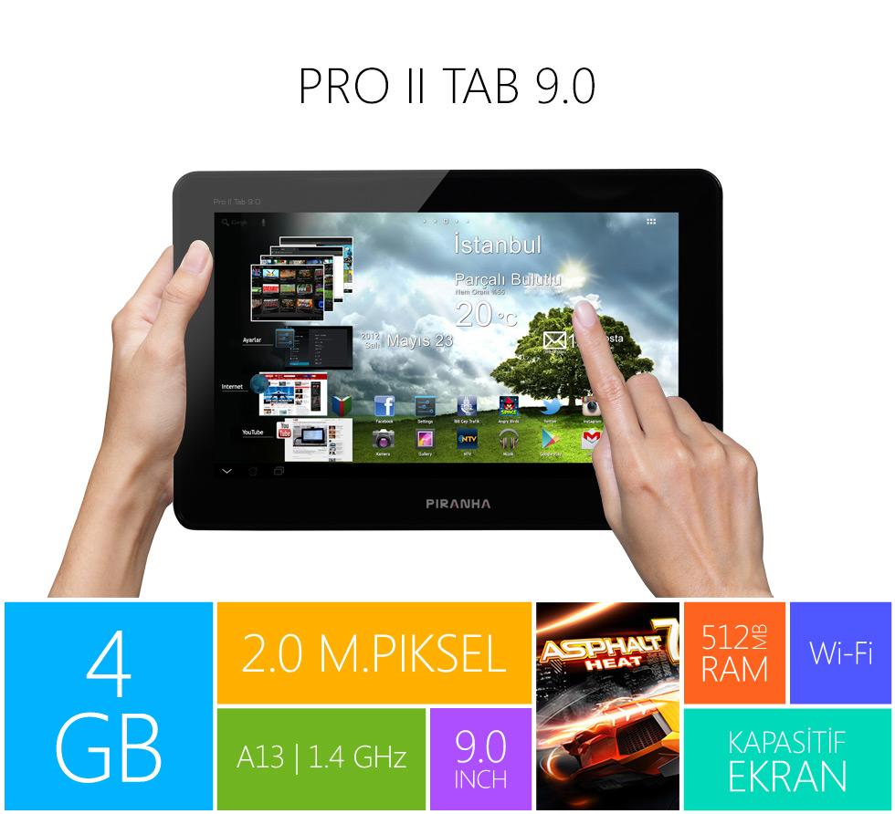 Pro II Tab 9.0