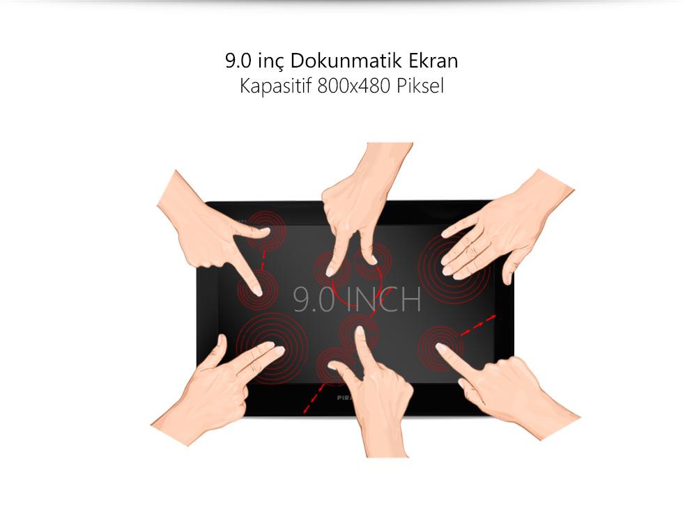 Ultra Tab 9.0-9.0 inç Dokunmatik Ekran