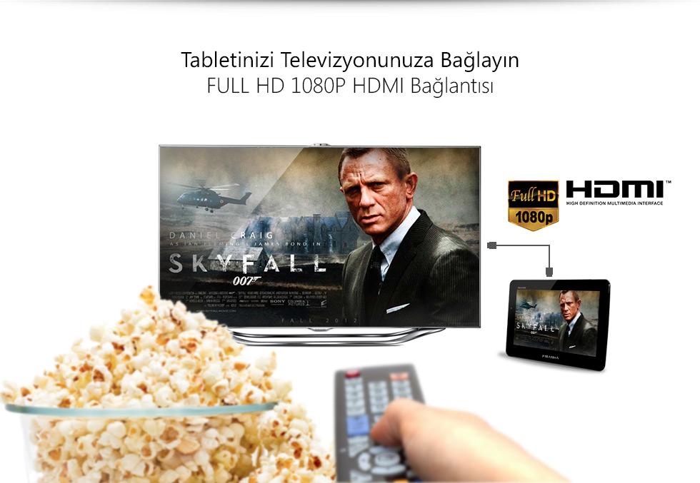 Ultra Tab 9.0-Tabletinizi Televizyonunuza Bağlayın