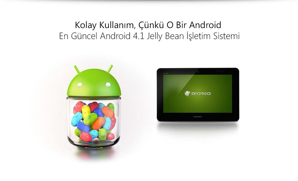 Ultra Tab 9.0-Kolay Kullanım, Çünkü O Bir Android