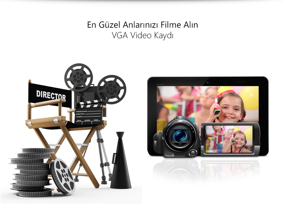 Ultra Tab 9.0-En Güzel Anlarınızı Filme Alın
