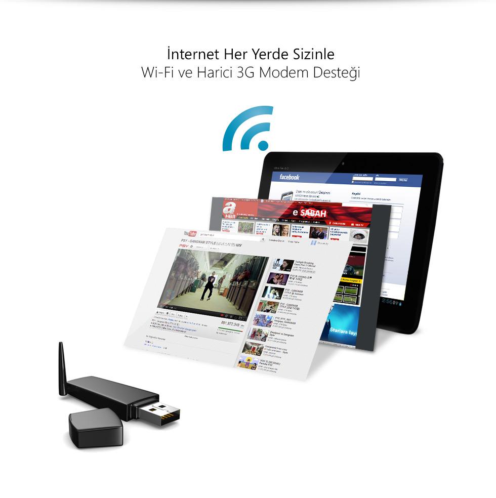 Ultra Tab 9.0-İnternet Her Yerde Sizinle