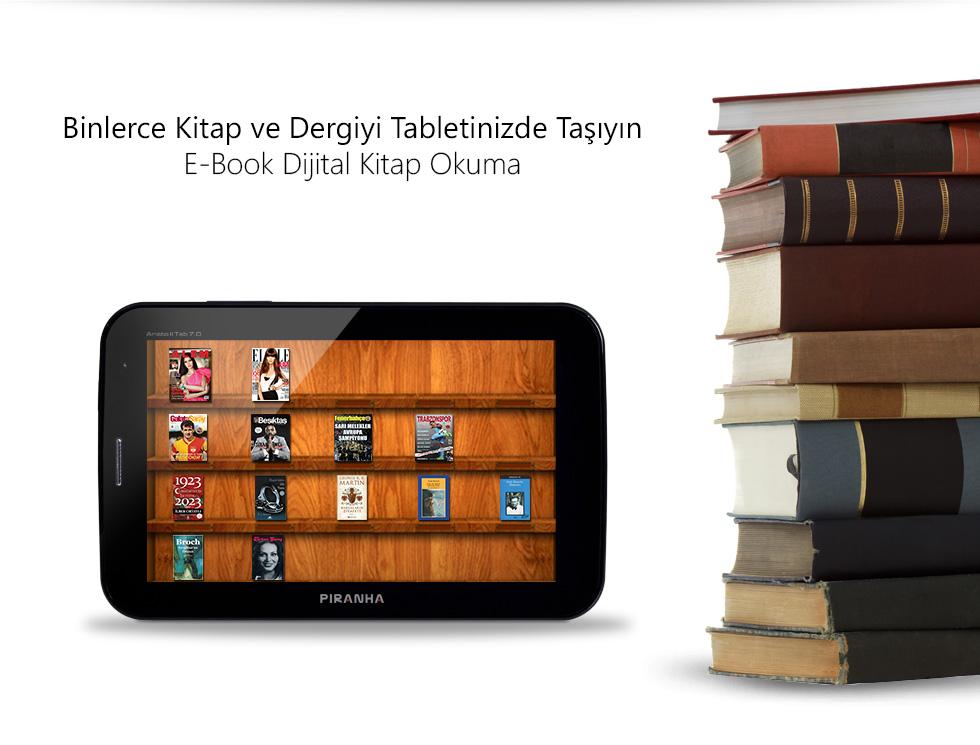 Aristo II Tab 7.0-Binlerce Kitap ve Dergiyi Tabletinizde Taşıyın