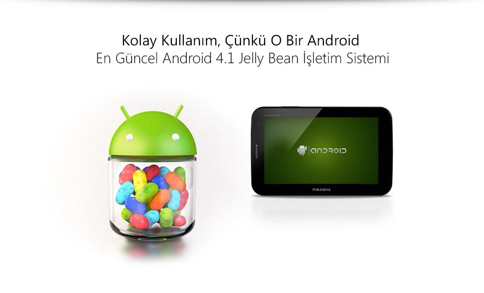 Aristo II Tab 7.0-Kolay Kullanım, Çünkü O Bir Android
