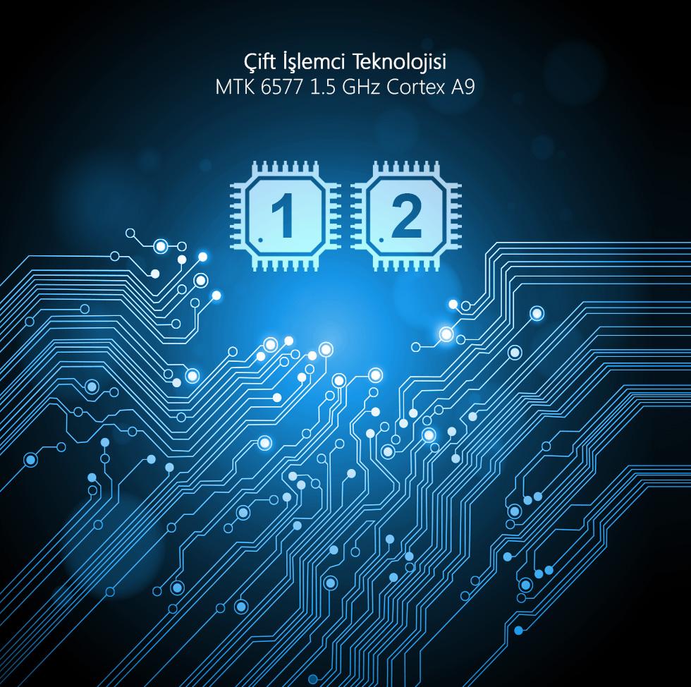 Aristo II Tab 7.0-Çift İşlemci Teknolojisi