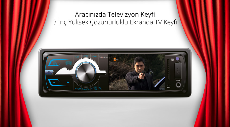 Charger L Type- Aracınızdaki Televizyon Keyfi