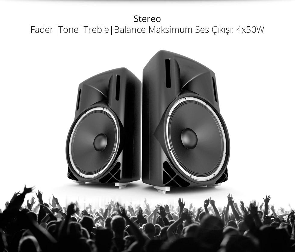 Charger-D-Type- Stereo Maksimum Ses Çıkış