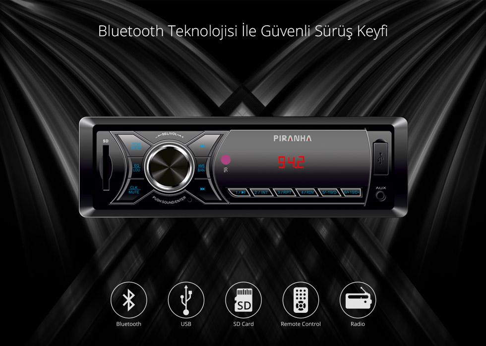 Charger T Type-Bluetooth Teknolojisi İle Güvenli Sürüş Keyfi