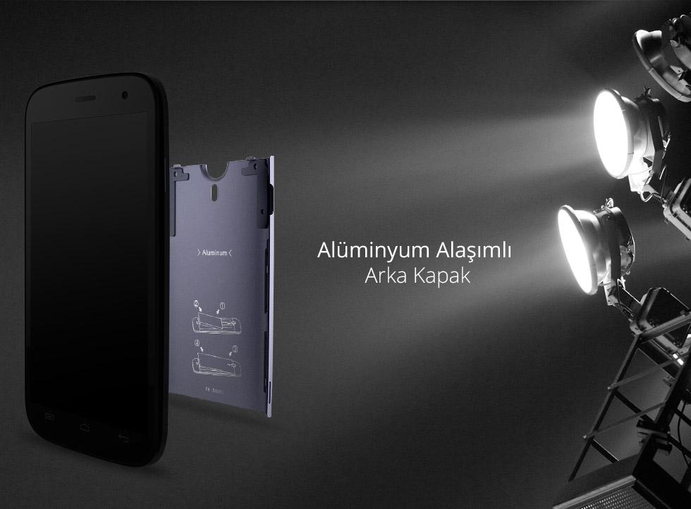 Zen-Alüminyum Alaşımlı Arka Kapak