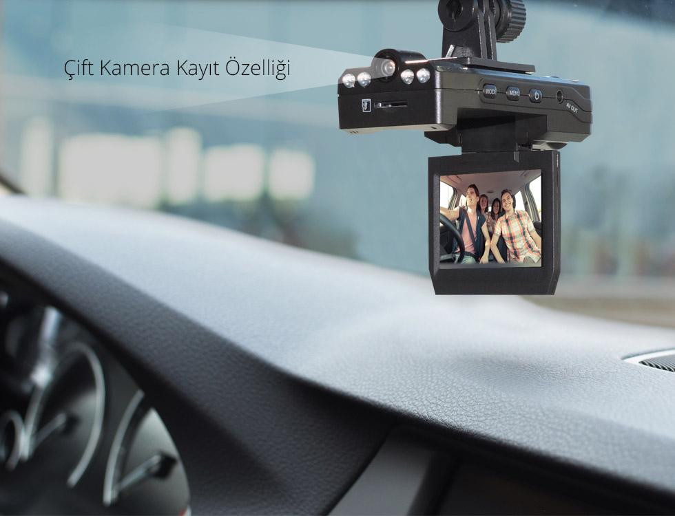 Spycam X Type-Çift Kamera Kayıt Özelliği