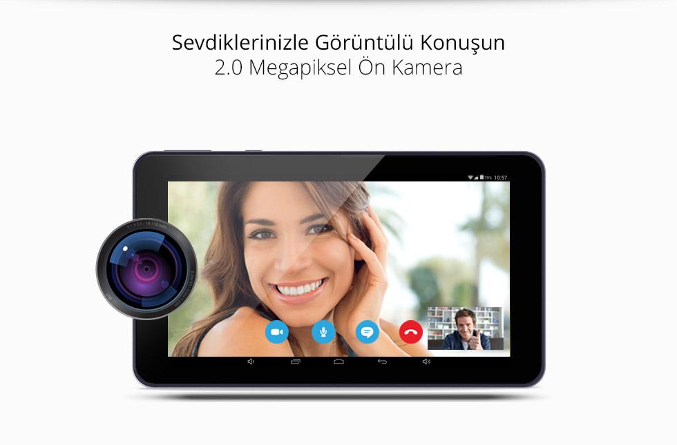 Premium Tab 7.0- Sevdiklerinizle Görüntülü Konuşun