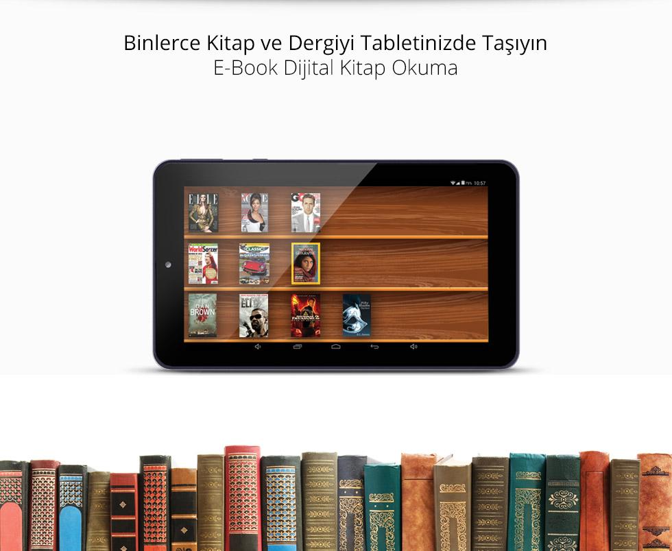 Premium Tab 7.0-E Book Kitap Okuma