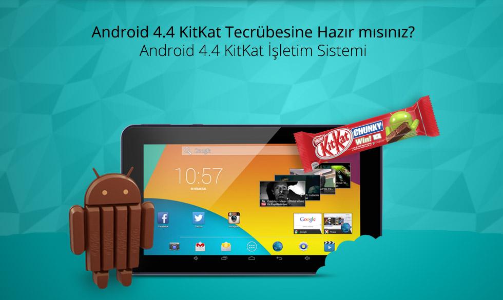 Premium Tab 7.0-Android 4.4 KitKat Tecrübesine Hazır mısınız?