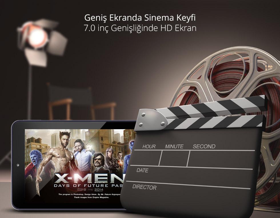 Premium Tab 7.0- Geniş Ekranda Sinema Keyfi