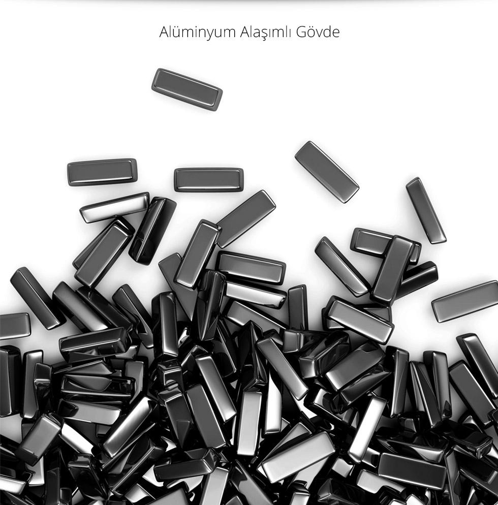 Empire Tab 9.0 Black-Alüminyum Alaşımlı Gövde
