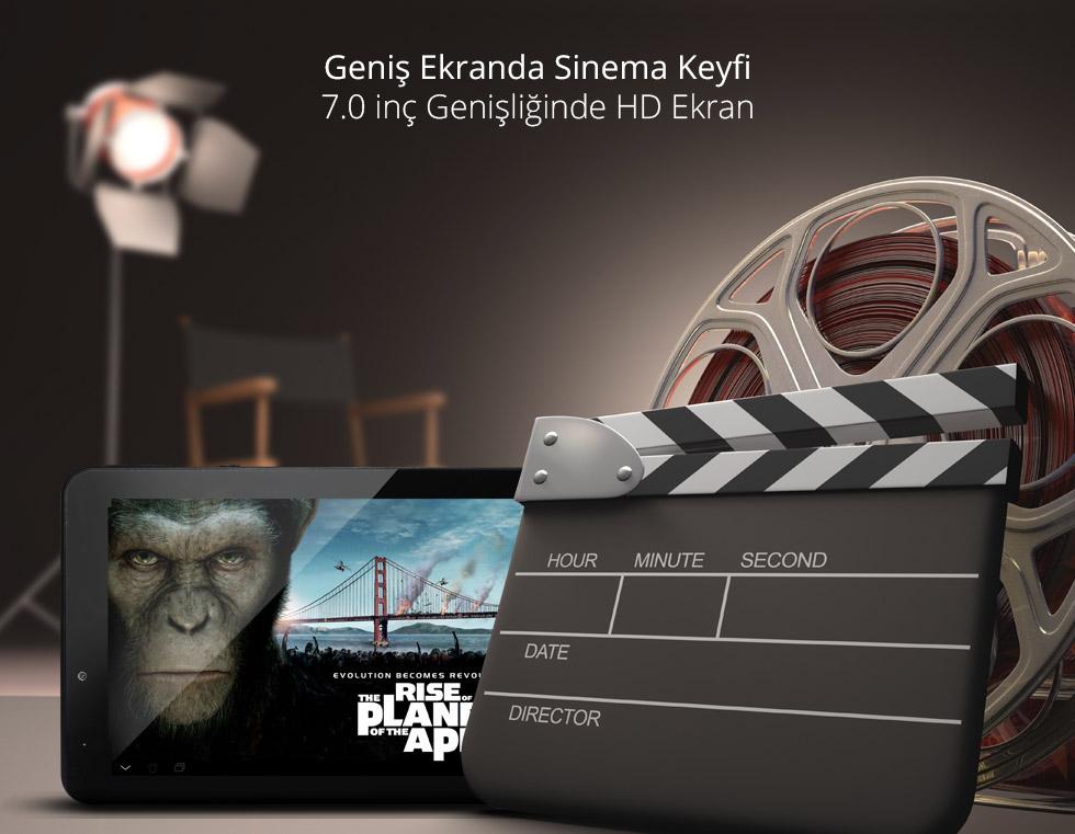 Aristo Q Tab 7.0-Geniş Ekranda Sinema Keyfi