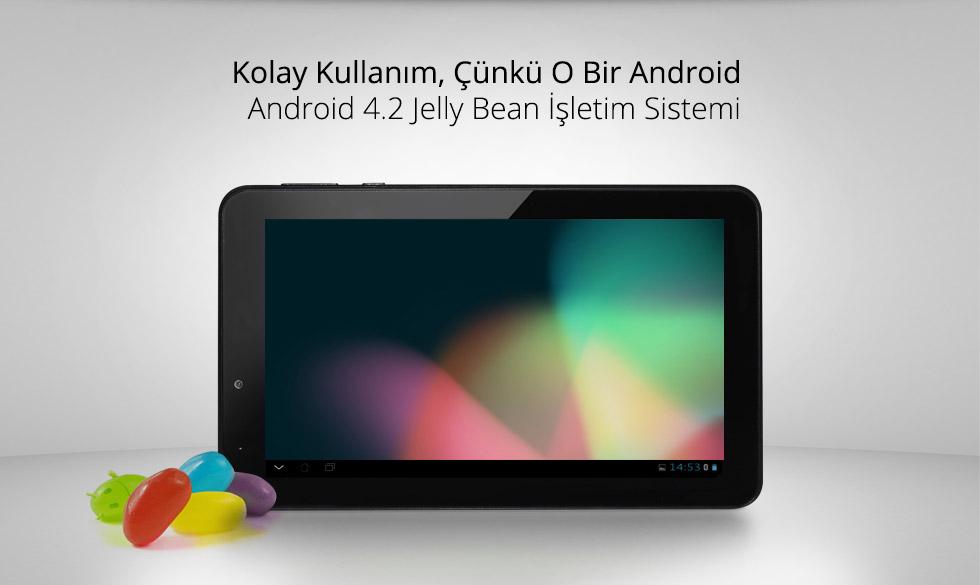 Aristo Q Tab 7.0-Kolay Kullanım, Çünkü O Bir Android