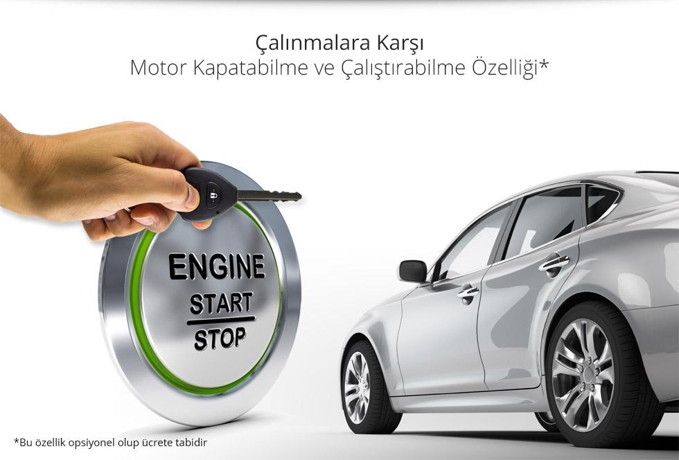 Ats-911 - Motor Kapatabilme ve Çalıştırabilme Özelliği