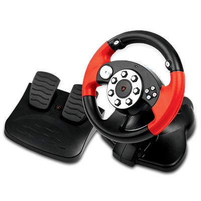 Piranha Monza Oyun Direksiyonu Sürücüsü