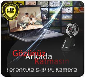 Türkiye'de Bir İlk ! s-IP PC Kamera ile Uzaktan Canlı Bağlantı